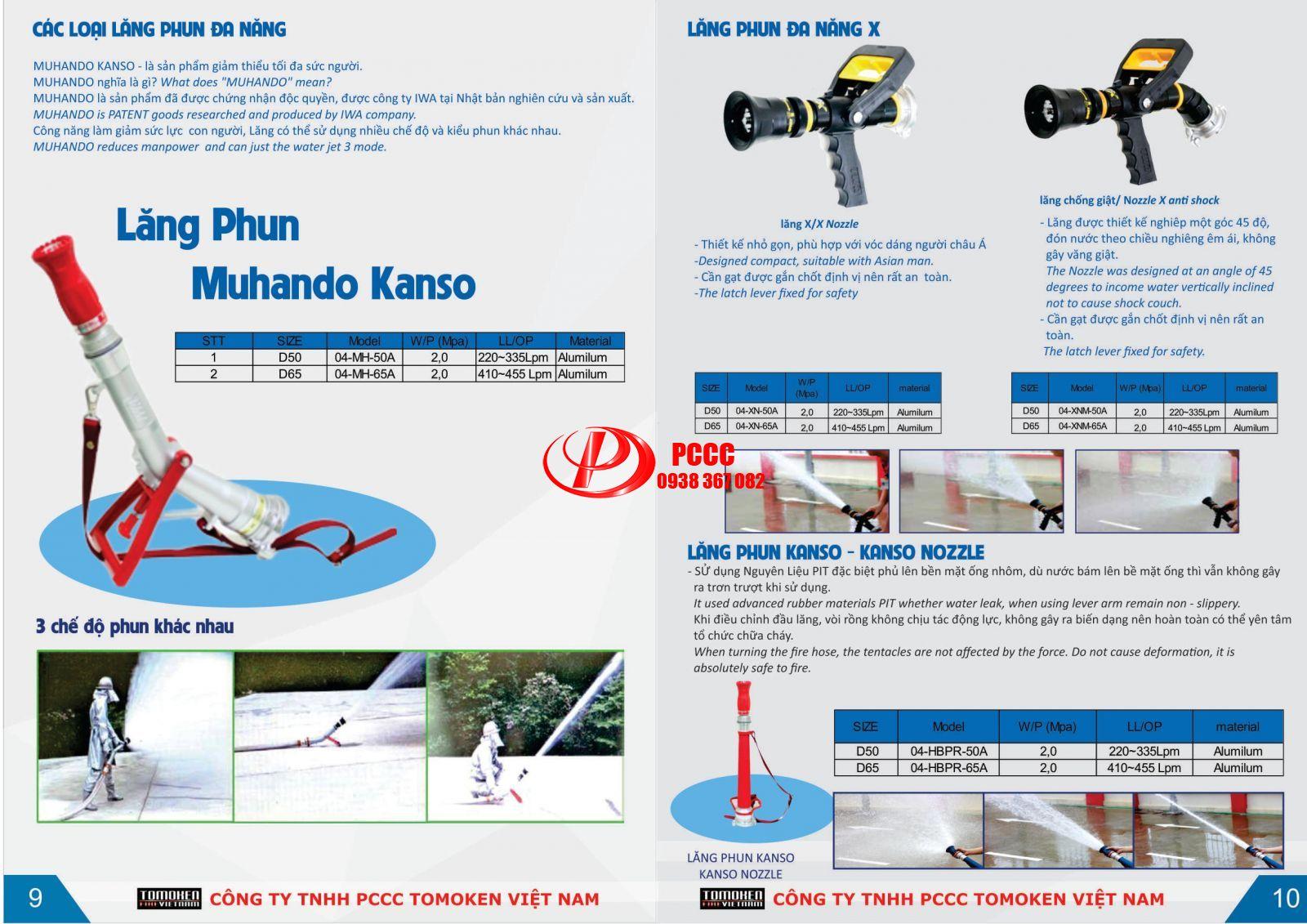 Catalogue Cuộn vòi chữa cháy Tomoken Nhật