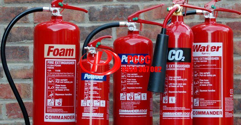 Review các loại bình chữa cháy chuyên dùng cho gia đình văn phòng