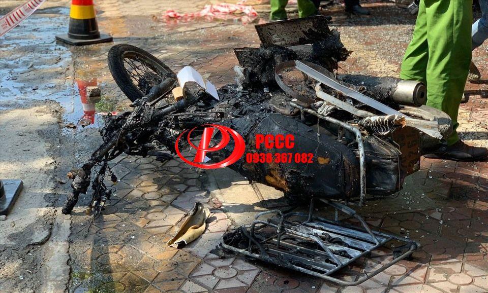 Hiện trường vụ cháy nhà thương tâm khiến 4 người tử vong ở Quảng Ngãi