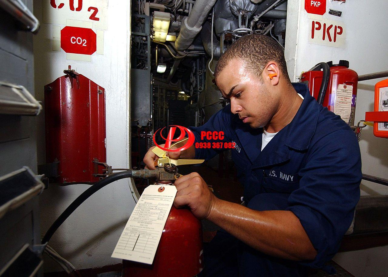 Nạp sạc bình chữa cháy tại Bình Dương Giá Rẻ Chất Lượng Cao