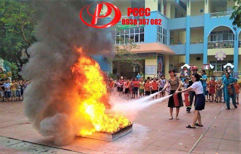Khay đựng xăng dầu diễn tập phòng cháy chữa cháy