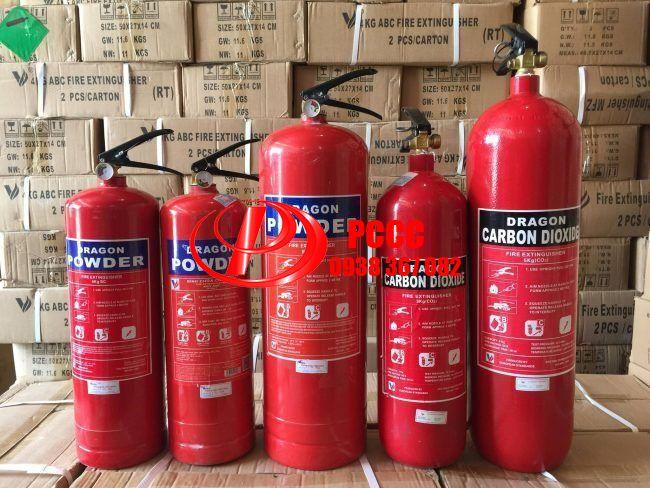 Bình chữa cháy gia đình có tem Kiểm Định BCA