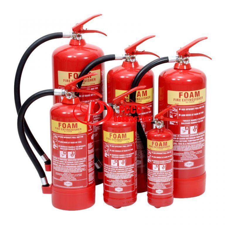 Nạp sạc bình chữa cháy Bột BC,bột ABC,Khí CO2-Giá Rẻ