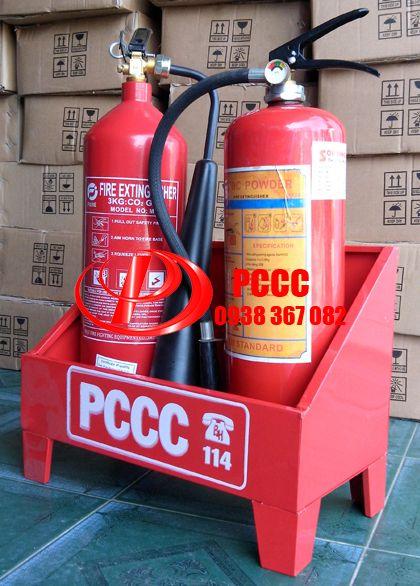 Báo giá kệ đựng bình chữa cháy giá rẻ tphcm