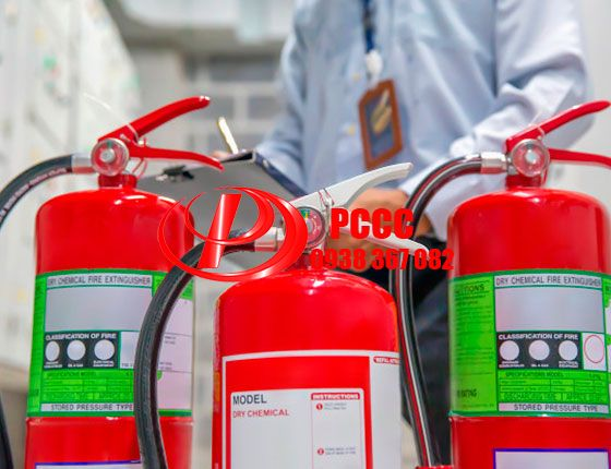 bảo trì nạp sạc bình chữa cháy bột BC,bột ABC,khí co2