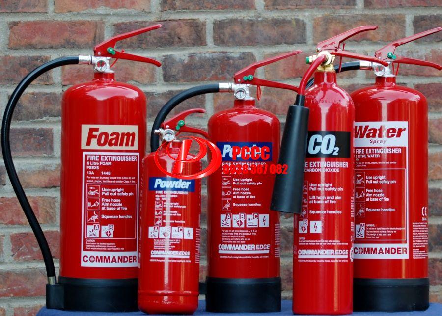 Vì sao cần phải trang bị bình phòng cháy chữa cháy