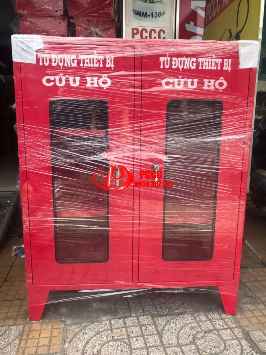 Sản xuất tủ đựng dụng cụ bảo hộ PCCC theo yêu cầu