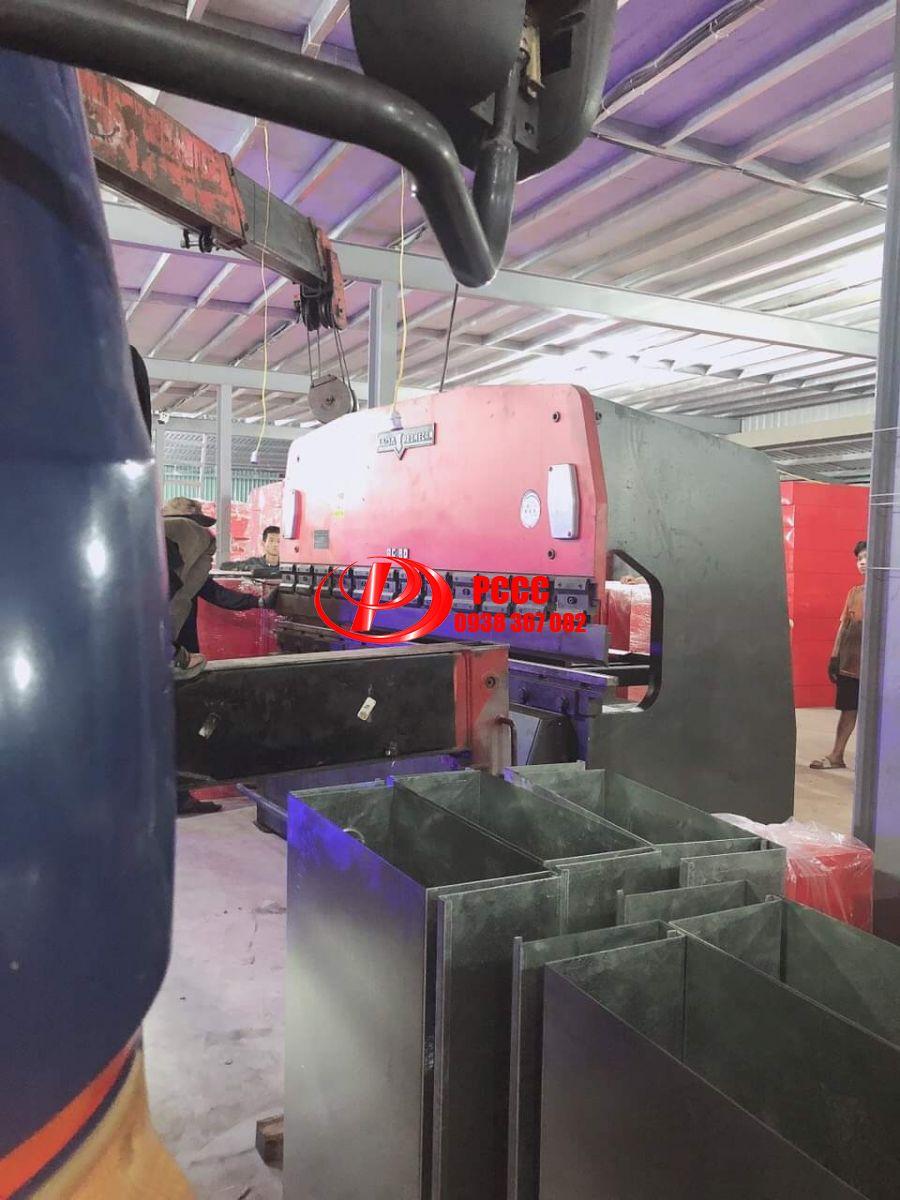 Nhà máy sản xuất tủ chữa cháy - Kệ đựng bình chữa cháy - Tủ chữa cháy Inox - Kệ Đôi PCCC - Kệ Đơn PCCC