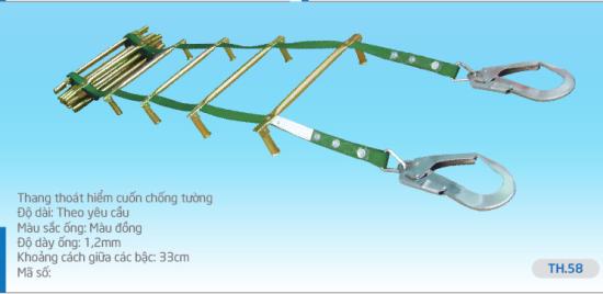 Thang Dây Thoát Hiểm nhà cao tầng TH58-mua bán thang dây thoát hiểm