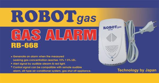 Thiết Bị Rò Rỉ Gas, Đầu Báo Gas RB-668 robot