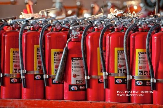 Dịch vụ cung cấp bình chữa cháy, dịch vụ nạp sạc bảo trì bình chữa cháy
