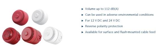 Chuông báo cháy Bosch FNM-320 Sounders