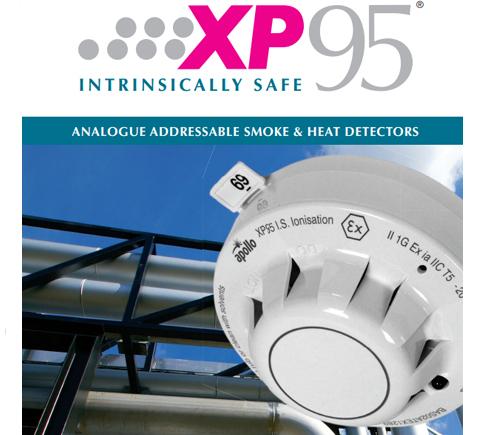 Thiết bị báo cháy Apollo XP95 dùng cho môi trường nguy hiểm Apollo XP95 I.S