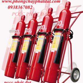 Báo giá bình chữa cháy khí co2, MT3,MT5,MT24