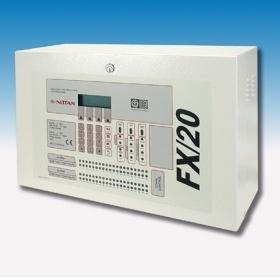 Trung tâm báo cháy địa chỉ Nittan tối đa 05 loop, Model: FX/10