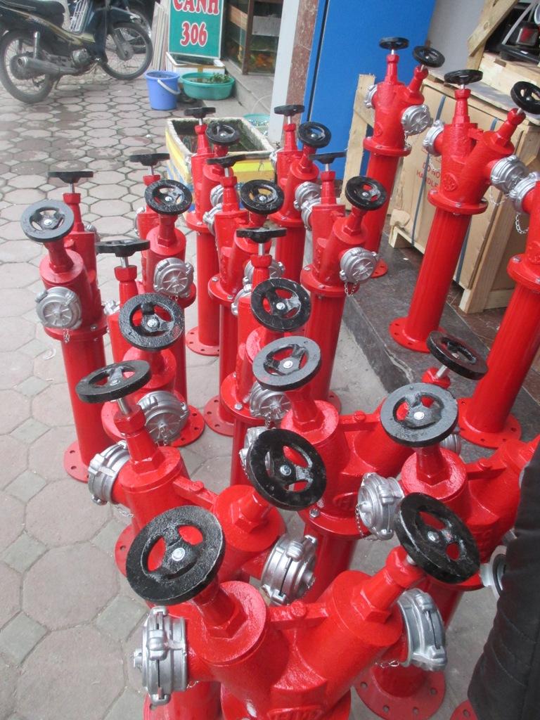 Công ty chuyên cung cấp trụ cứu hỏa cao cấp