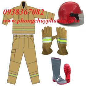 Quần áo chữa cháy theo thông tư 48 BCA