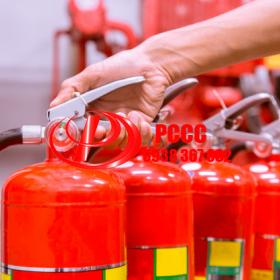 Dịch vụ thay bình chữa cháy cũ ( mới)