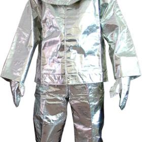 quần áo chống cháy tráng bạc amiang