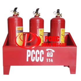 Sản xuất kệ đựng bình chữa cháy kích thước theo yêu cầu giá rẻ